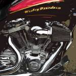 """Red V-Twin"" by dedeuce"