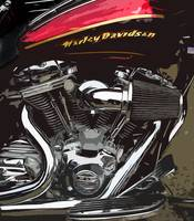 Red V-Twin