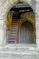 Main Entrance to St Mary's Church Brading (24929)