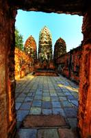 Inside Khmer Temple