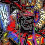 """""""Junkanoo Lady"""" by paulyworksfineart"""
