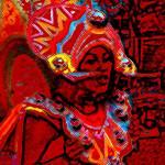 """""""Junkanoo Girl"""" by paulyworksfineart"""