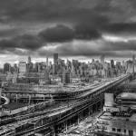 """Manhattan Skyline"" by gohrdesign"