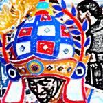 """""""Junkanoo Smile"""" by paulyworksfineart"""