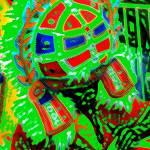 """""""Junkanoo Drummer"""" by paulyworksfineart"""