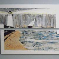 Lighthouse for Our Grandchildren Art Prints & Posters by Joyce MacPhee