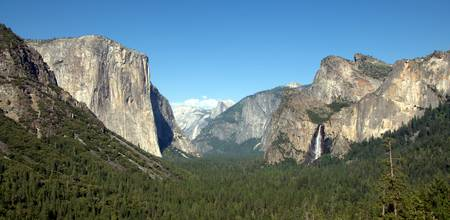 Yosemite Valley Floor View
