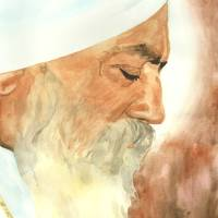 """Meditation  Watercolor by Parmatma"" by SikhPhotos.com Gallery"