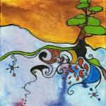 """Fairy Tree #21 - Gone Deeper"" by allsortsacre"