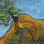 """""""Fairy tree #25 - Tri-lined"""" by allsortsacre"""