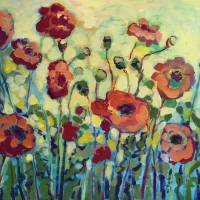 """Anitas Poppies"" by JENLO"