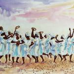 """""""Gaving thanks and praises to the Lord"""" by artfrica"""