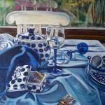 """Inspired by Janet Fish: Polish Pottery XXIV"" by 88heather"