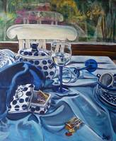 Inspired by Janet Fish: Polish Pottery XXIV
