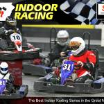 """Fall 2007 Sykart Indoor Kart Racing Season Poster"" by Kart-Race-Art"
