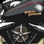 """Roland Sands Harley"" by dedeuce"
