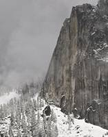 Half Dome in the Snow