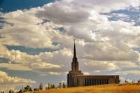Oquirrh Mountain Temple shot august 15