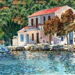 """Greece-IslandCottage"" by BGB"