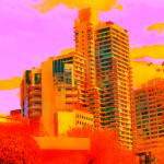 """""""Abstracted Melbourne Apartement buildings"""" by davidflurkey"""