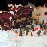 """Anchorage Alaska Gingerbread City @ Captain Cook H"" by MarculescueugeniancuD60AK"