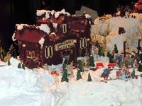 Anchorage Alaska Gingerbread City @ Captain Cook H