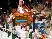 Alaska Anchorage City Gingerbread House At Captain