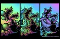 Fractal Triptych #3