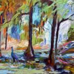 """Impressionist Garden South Carolina"" by GinetteCallaway"