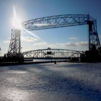 Duluth Minnesota Lift Bridge by Lisa Rich