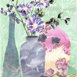 """Violets and Vases"" by LauraHall"