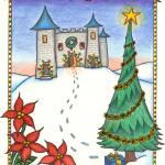 """""""Christmas Castle"""" by bellospirito"""
