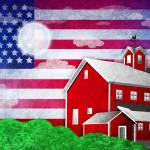 """Patriot Barn 2"" by kgedesign"