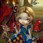 """Alice and the Bosch Monsters"" by strangeling"
