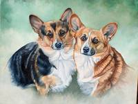 BEST FRIENDS(CORGIS)