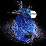 """Dart Thru Blue"" by Photofilly31"