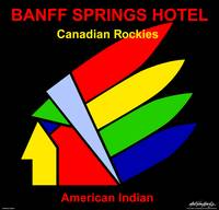American Indian - Banff Springs Hotel