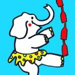 """Elephant Tipple"" by Ensrud"