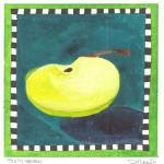 """Day Sixty seven - Green Apple Wedge"" by JenniferVisscher"