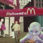 """Gollum Discovers McDonalds"" by saraalexandermunoz"