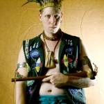 """Native Regalia - self portrait"" by redhawk45"