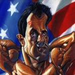 """Sylvester Stallone"" by odea"
