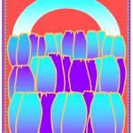 """""""Blue Violet Tulips"""" by vbrutoskyfineartist"""