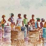"""Selling palm wine"" by artfrica"