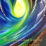 """""""Your Word is a Lamp to my Feet - AJ LaGasse"""" by lagassegallery"""