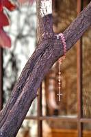 Rosary Tree at Loretto Chapel