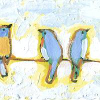 """Eight Little Bluebirds"" by JENLO"