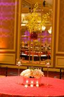 Table setting at a luxury wedding reception (2)