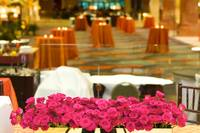Table setting at a luxury wedding reception (4)