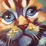 """""""Colorful Kitten"""" by Morianart"""